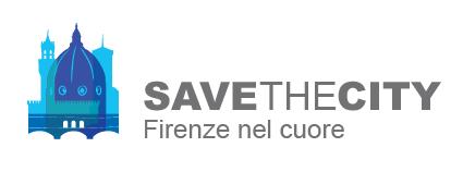 Logo STC blu lungo scritta grigia